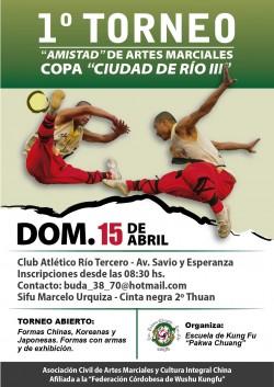 "1º Torneo ""Amistad"" de Artes Marciales"